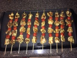 Chicken Pesto Kabobs